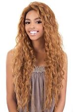 "BeShe Synthetic Lace Front Wig Ear-to-Ear 29"" Super Long Wavy Hair Lace-304"