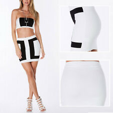 Women Mini Skirt Seamless Stretch Tight Sexy Bodycon Short Pencil Dress RE