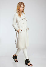 Sold Out Forever 21 Oyster Gray Belted Trench Coat Large