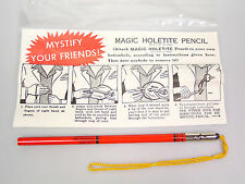 Magic Holetite Pencil Tricks magician party favor goody bag party trick gag gift