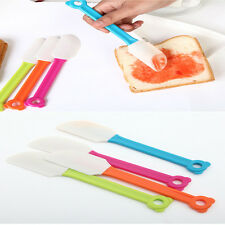 1pc Kitchen Cooking Tool Silicone Baking Scraper Bread Spatula Butter Mixer