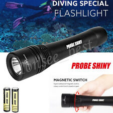 Waterproof 5000LM CREE XM-L T6 LED Underwater Diving Flashlight Torch Powerful