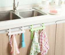 Door Rack Home Five Hooks Hot Hanging Rack Towel Hanger Holders Kitchen Storage