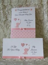 Personalised New Baby Card With Matching Gift Voucher Wallet