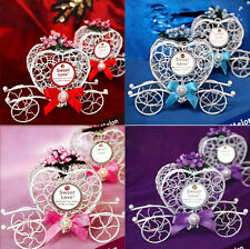 Carriage Chocolate Boxes Wedding Cinderella Candy 1pc Birthday Party Favours