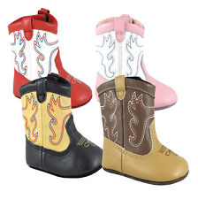 Smoky Mountain Baby Doe Prewalkers Boots - Two Tone