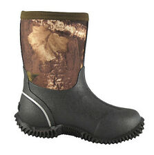 "Smoky Mountain Camo Amphibian 8"" Rubber Boots - Child Toddler or Youth"