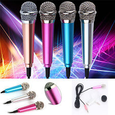 3.5mm Mini Stereo Studio Speech Microphone Mic For iPhone PC Laptop Skype MSN