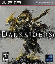 Darksiders (Sony PlayStation 3, 2010) Complete  ( B19 )