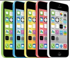 "Apple iPhone 5C-8GB 16GB 32GB GSM ""Factory Unlocked"" Smartphone Cell Phone"