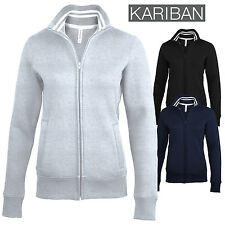Kariban KB457 Womens Full Zip Fleece Fitted Jacket, Casual Wear Winters Jackets