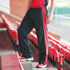 Finden & Hales LV850 Mens Piped Track Pant Casual Sports Wear Jogging Trousers