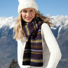 Result R367X Winter Essentials Arran Heavy Knitted Scarf Winters Neck Protection