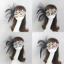 Venetian Feather Masquerade Ball Eye Mask Party Fancy Dress Christmas Halloween