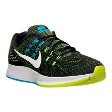 Men's Nike Zoom Structure 19 Running Shoes, 806580 010 Sizes 9-15 Black/Pure Pla