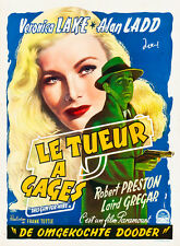 This Gun for Hire 1957 Belgian Vintage Movie Poster