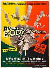 Invasion of the Body Snatchers 1956 Vintage Movie Poster