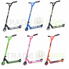 Genuine Stunt Scooter Adult / Kids Fixed Bar 360 Degree Push Pro Trick ABEC7