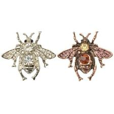 Fashion Women Men Brooch Pin Crystal Honey Bee Brooch Pin Insects Pin Jewellery