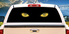 CAT EYES Rear Window Graphic truck view thru vinyl decal back