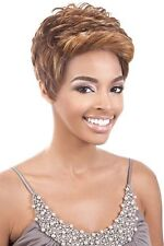"BeShe Synthetic Lace J Deep Part Front Wig Ear-to-Ear 9"" Short Hair LACE-109"
