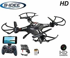 S idea Drone Quadrocopter with HD CAMERA WIFI - Live Transmission and