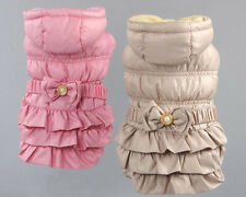 Pet Dogs Clothing Winter Dog Cat Coat Pet Jacket Hood Pet Clothes for Small Dog