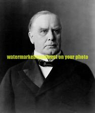 25th President of the United States William McKinley Black n White Photo USA