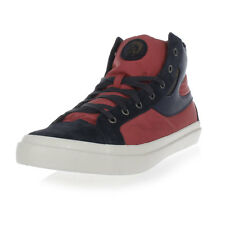 DIESEL Man Leather and Fabric S-KWAARTZZ High Sneakers New with tags