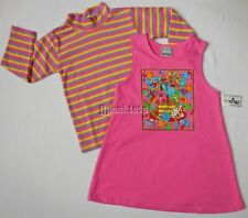 NEW Zoodles Birthday Jumper Set Whimsical Boutique Pink Sizes 5 6 7 8 NWT