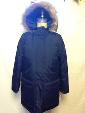 Woolrich Womens Patrol Down Parka 15013 Navy New With Tags