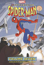 The Spectacular Spider-Man Volume Seven DVD Marvel New Episodes 21, 22, and 23