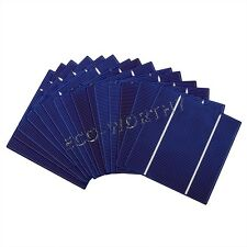 40W 90W 100W 1KW 5x5in 126X126mm Poly Solar Cell Cells DIY Kit High Efficiency