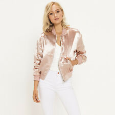 Here Comes The Sun Chrissie Bomber Jacket  in Pink
