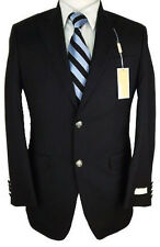 NWT MICHAEL Michael Kors Mens Black Wool Blend Sportcoat Jacket $295