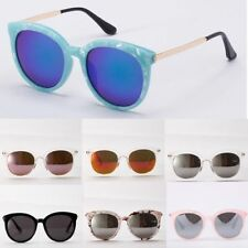 Fashion Womens Retro Vintage Shades Oversized Round Frame Sunglasses Eyewear