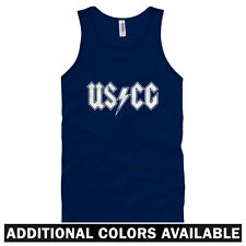 Coast Guard Rocks Unisex Tank Top - Men Women XS-2X - Gift USCG Semper Paratus