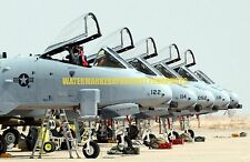 USAF A-10 Thunderbolt II 442nd Fighter Wing Color Photo Military AFB  A 10 JET