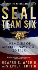 SEAL Team Six: Memoirs Elite Navy SEAL Sniper Wasdin/Templin Hardcover