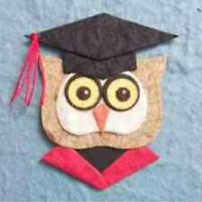 Graduated Brown Owl Face Mulberry Paper Die Cut Toppers Card Scrapbooks Craft