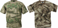 A-TACS  AU Military MENS ARMY Camouflage Short Sleeve T-Shirt MADE IN USA S-2X