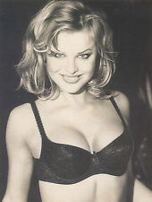 """Wonderbra NWT Rare """" VINTAGE"""" 90s, Push-Up Lacy Bra  with/Removable Pads.Black"""