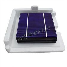 40W 90W 100W 480W 1KW High Power 5x5 Poly Solar Cells for DIY Panel 2.4W/p