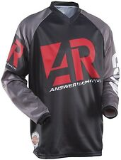 NEW ANSWER Racing A15 MODE  RED Black Jersey motocross atv off road ADULT