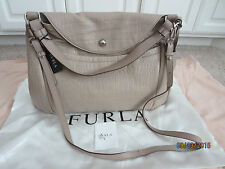 FURLA Croc Embossed Leather Shoulder Bags, NWT
