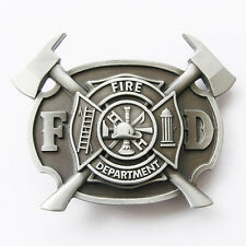 Men Belt Buckle Fire Fighter Belt Buckle Gurtelschnalle Boucle de ceinture