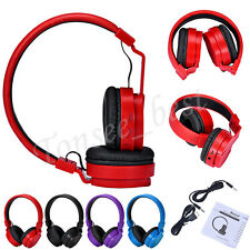 Foldable Wireless Bluetooth Headset Stereo Headphones Earphone For iPhone Lot