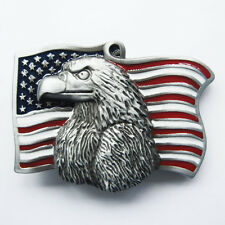 Men Belt Buckle Eagle With Flag Belt Buckle Gurtelschnalle Boucle de ceinture