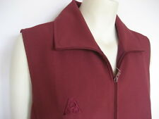Cathead Julie Zip Vest, Maroon - Clearance - HALF PRICE! Now only $37