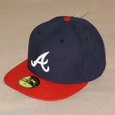 New Era 59FIFTY Atlanta Braves Navy AC On-Field Home Fitted Hat - $35 NWT!